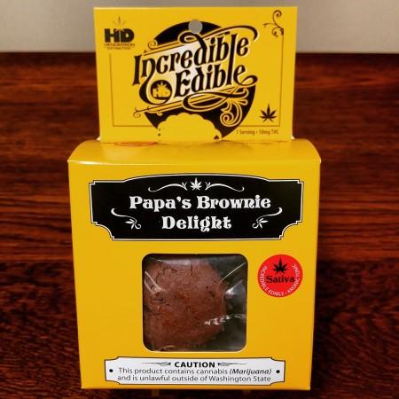Marijuana infused Brownies at Cascade Herb Co, Bellingham, WA