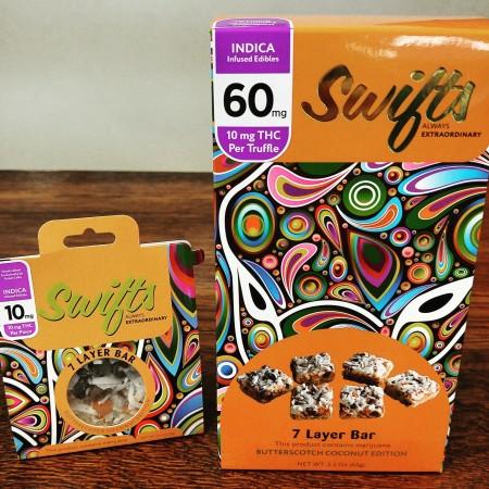 Swifts marijuana 7 layer bars
