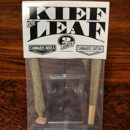 Kief and Leaf 2 pack pre roll