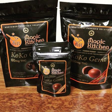 Koko Gems infused Chocolates