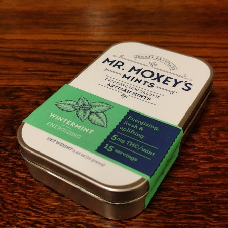 Moxey mint THC infused mints