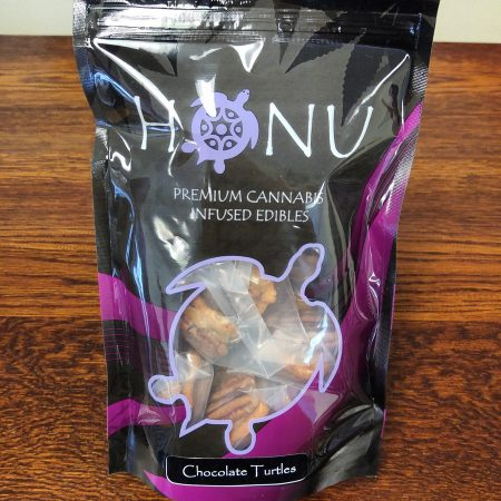 Honu Chocolate Turtles infused cannabis edible