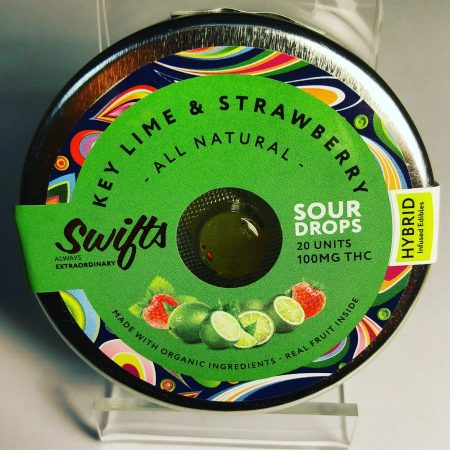 Swifts sour drops edible medible