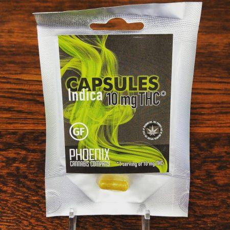 Phoenix infused capsule Bellingham weed marijuana cannabis flower