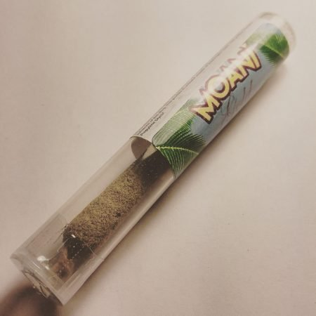 Moani Kief and OIl Pre roll Bellingham pot shop