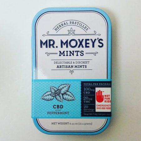 Moxey CBD Peppermint medible edible Bellingham marijuana pot shop dispensary