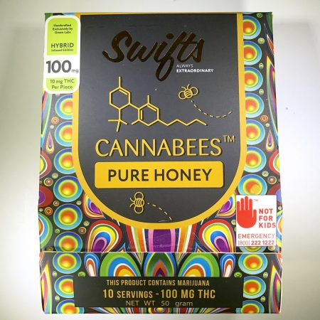 THC infused Honey Swifts Green Labs Bellingham marijuana pot shop dispensary