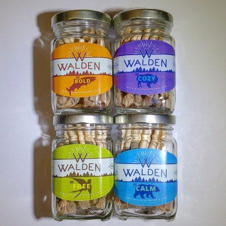 Walden 28 pack pre roll jars Bellingham marijuana dispensary pot shop