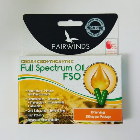 Full Spectrum Oil FSO Fairwinds Bellingham Potshop Cannabis Marijuana Washington Dispensary
