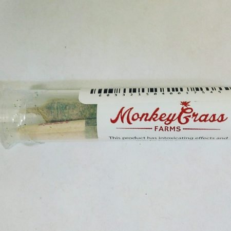Monkey Grass Farms 2 pack Pre Rolls Blue Dream Timewreck Afgooey