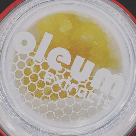 Huckleberry Kush Oleum honey crystal