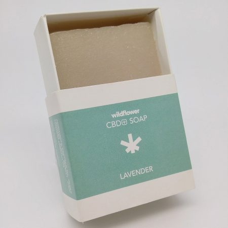 Lavender CBD Soap by Wildflower