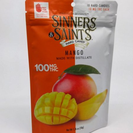 Mango Hard Candy by Sinner Saints