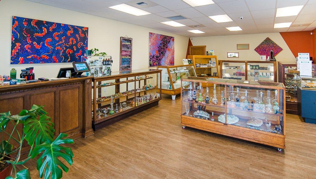 Store Floor | Cascade Herb Company