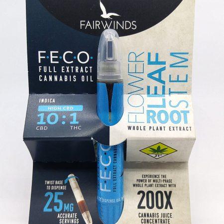 FAIR FECO 10:1 CBD Indica RSO 1g – Cascade Herb Company